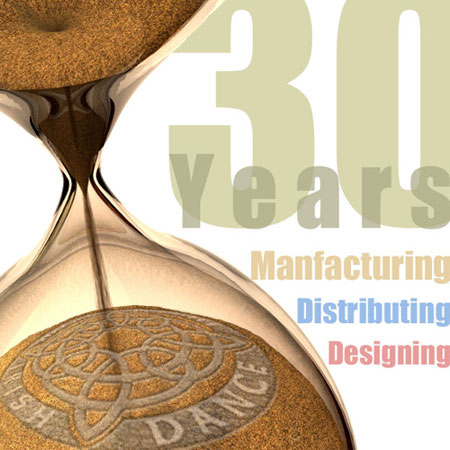 30 years manufacturing, distributing, designing