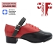 Fusion Fighter Jig Shoe - Capezio Tips, Half Rubber Soles and Concorde Heels