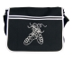 Messenger Bag with Dancing Pumps design