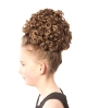 Shelly Traditional Curl Double Bun Wig
