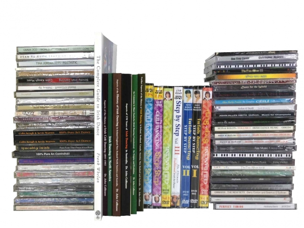 Music, Books & DVDs Irish Dance Shop Antonio Pacelli