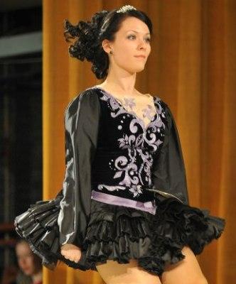 Long Black Dance Dresses