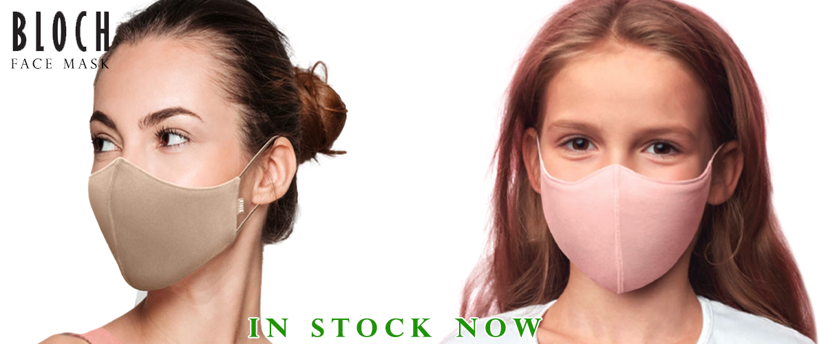 Bloch Face Masks For Adults & Children