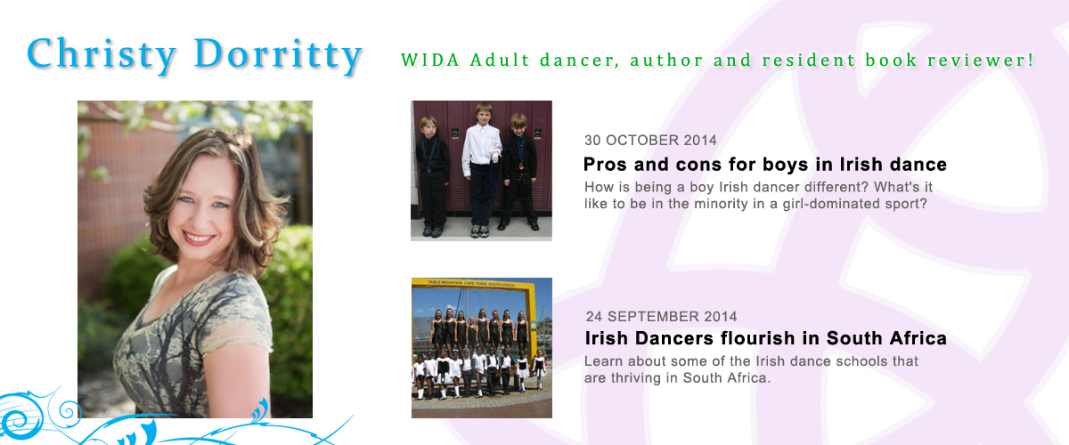 WIDA Adult dancer, author and resident book reviewer!