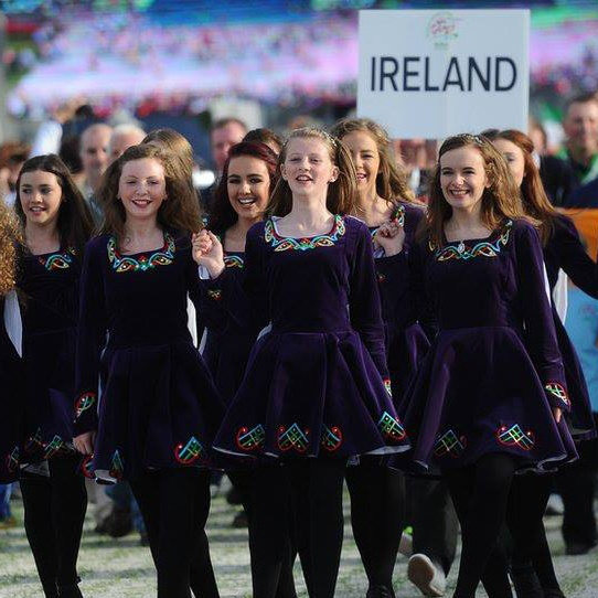 Adult Irish Dancers