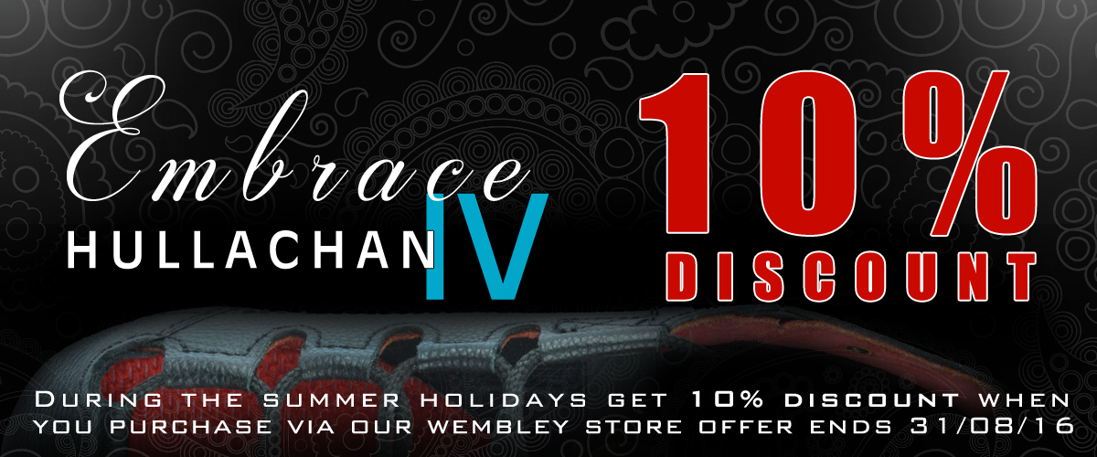 Hullachan 4 Embrace - In Store 10% Discount