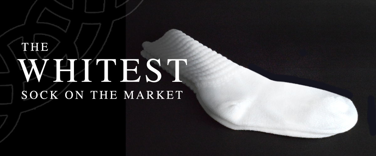 Whitest Sock On The Market
