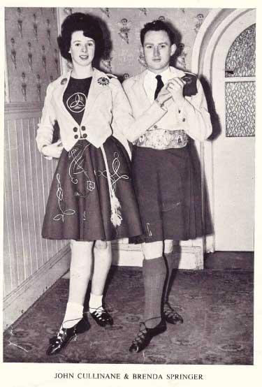John Cullinane & Brenda Springer