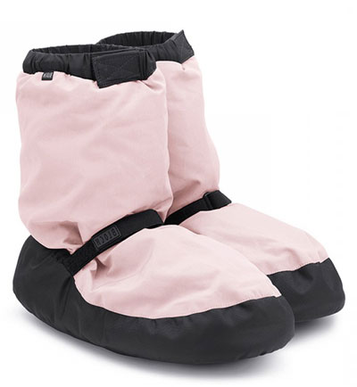 Warm Up Booties - Candy Pink