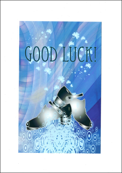 Good Luck Card for Irish dancers