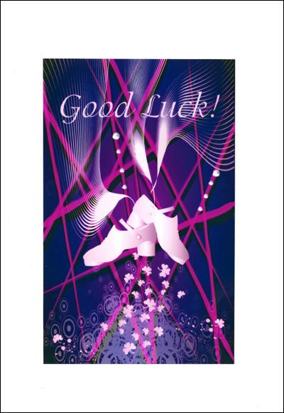 Irish Dance Good Luck Card Antonio Pacelli
