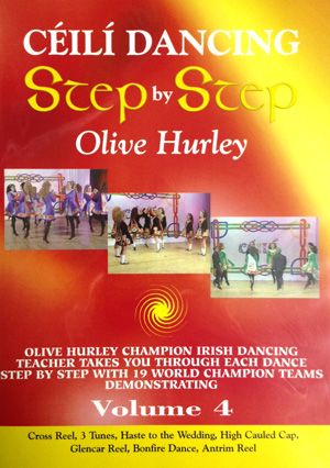 Ceili Dancing: Step by Step (Volume 4) DVD