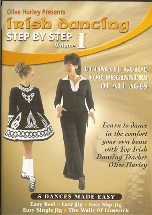 Irish Dancing Step By Step (Volume 1) DVD