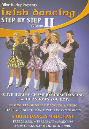 Irish Dancing Step By Step (Volume 2) DVD