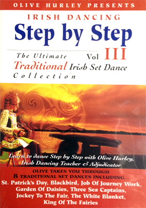 Irish Dancing Step By Step (Volume 3) DVD