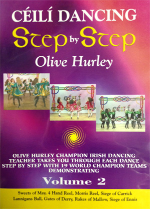 Ceili Dancing: Step by Step (Volume 2) DVD