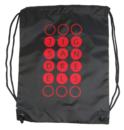 Gym Sac with 'Jigs And Reels' design