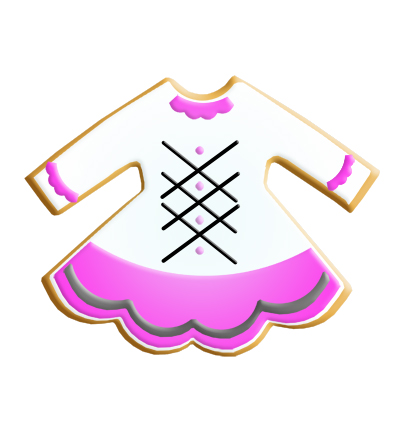 Irish Dance Themed Cookie Cutter Set