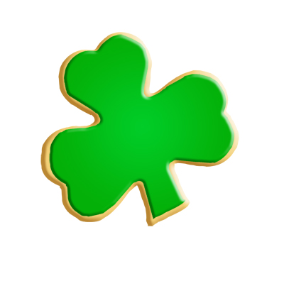 Shamrock Cookie Cutters