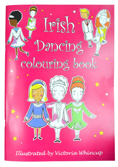 Irish Dance Colouring Book