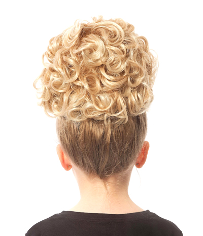 Keara Single Curl Bun Wig