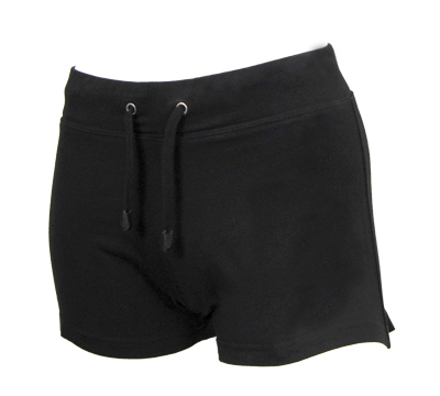 Ladies Black Irish dancing shorts