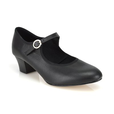Set Dance Shoe with Diamante Buckle