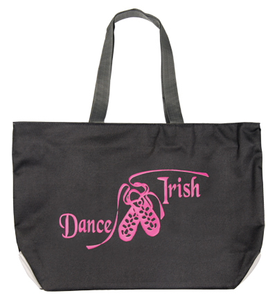 Tote Bag with Fluorescent 'Dance Irish' design