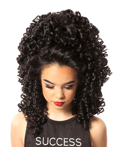 Vivien Traditional Curl Wig - Long