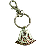 Irish Dress Keyring -